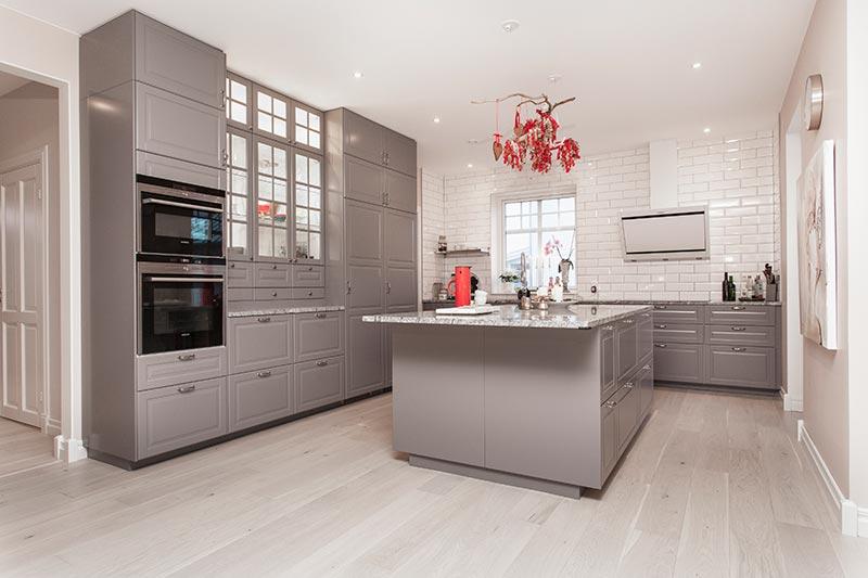 Bild på kök byggt av PMB Sverige.